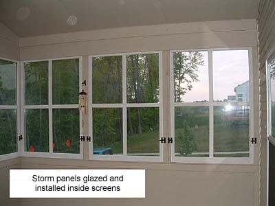 The Wood Window Surgeon Screen Porches